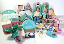 Fisher Price Loving Family Dream Dollhouse 26 Furniture Lot Accessories Figures