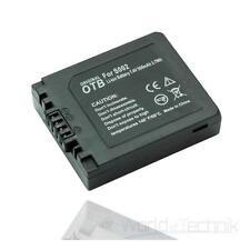 Akku, accu, Batterie, battery für Panasonic LUMIX DMW-BM7 / CGA-S002 / DMC-C20