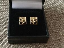 Ola Gorie Butterfly Precious Metal Earrings without Stones