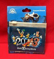 Buy One Get One Free -Disney Lanyard Pouch - Dated 2013 - Walt Disney World New