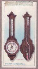Syphon Barometer Atmospheric Pressure Gauge 1915 Ad Trade Card