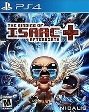 THE BINDING OF ISAAC AFTERBIRTH+ * PLAYSTATION 4 * BRAND NEW FACTORY SEALED!
