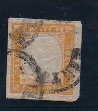 SARDINIA - c.80 used 1860  RARE!! Very fine (835-a101)