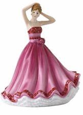 New Royal Doulton Tender Love Sentiments Petite Ladies Pink Figurine # Hn 5847