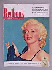 Redbook Magazine - March, 1953 ~~ Marilyn Monroe cover