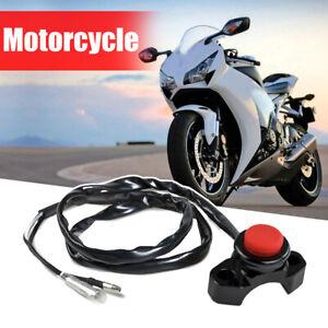 Universal CNC Motorcycle Engine Stop Start Kill Switch Button Kit Bike ATV