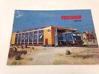 Vintage VOLLMER 1963 1964 Novelties Trains Railroad Model Catalog Book