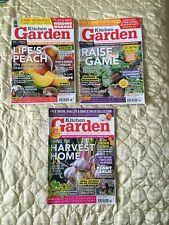 Kitchen Garden Magazines x 3