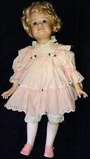 """Vintage Brinns Limited Edition Porcelain Doll 25"""""""