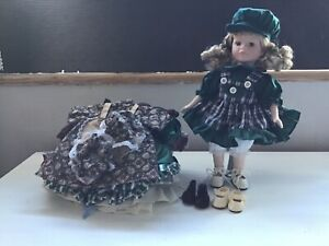 Pot Doll on Stand And Items