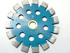 "(5) -5""x250 PREMIUM BLUE 12mm Tuck Point Diamond Blade-Conc./Brick/Morter/Grout"