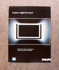 [GCG] I539 - Advertising Pubblicità - PHILIPS FLAT TV