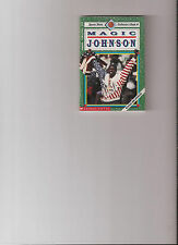 SCHOLASTIC SPORTS SHOT COLLECTOR BOOK #4 MAGIC JOHNSON!!
