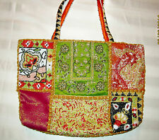 CHRISTIANA BEADED HANDBAG - EUC