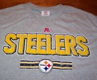 VINTAGE STYLE PITTSBURGH STEELERS NFL FOOTBALL T-Shirt LARGE NEW