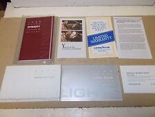 Mopar NOS Owners Manual Pkg.1990 Dodge Dynasty