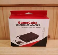 Gamecube Controller Adapter for Nintendo Switch Wii U PC - Fast Shipping