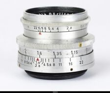 Lens Meyer Primoplan 1.9/58mm Red V  No.1169432  for Contax S Pentax M42