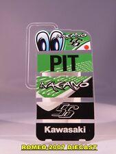 1:12 Pit board - pitboards Shinya Nakano Kawasaki Team 56 to minichamps NEW