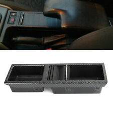 Carbon Front Center Console Storage Cup Holder Fits For BMW E46 3 Series 1998-07(Fits: M3)