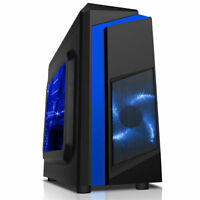 CiT F3  Micro ATX Tower Gaming PC Case USB 3.0 12cm  LED Fan mATX