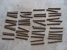 "Square Cut Raisin Head Nails 2.5"" Lot of 50 - Antique Amish Restoration Hardware"