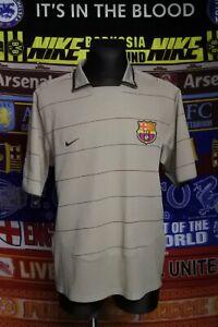 5/5 Barcelona adults XL 2003 MINT away football shirt jersey trikot soccer Barca