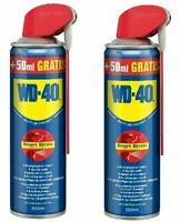 2x WD-40 Multifunktionsspray Vielzweck-Spray 500ml Schmieröl Rostlöser