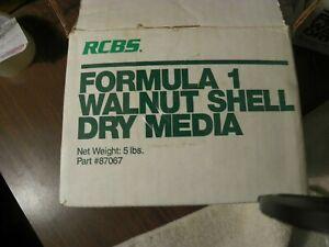 5Lb  Crushed Walnut  Tumbler / Blast Media.12/20 sieve +* abrasive cleaner