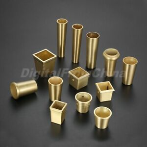 Tapered Furniture Leg Ferrules Cover Chair Sofa Dining Table Feet Tip Cap Tube