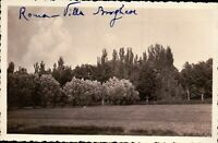 FOTOGRAFIA ANNI '30 - ROMA VILLA BORGHESE / PRATO