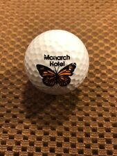 Logo Golf Ball-Monarch Hotel.Large Butterfly.Cool