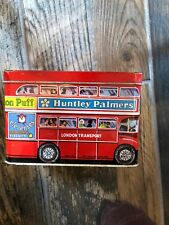 Huntley Palmers Tin Litho Double Decker Bus London Transport Biscuit