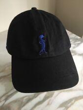 Geico Hat Black Blue Gecko Insurance Flo Usa Cotton Lizard