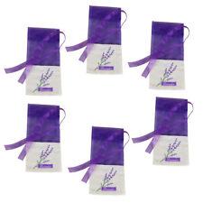 6pcs Sachets Lightweight Empty Lavender Sachet Bag for Storage Dry Flowers Seeds