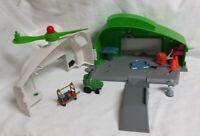 Disney Pixar Planes Buck Dotties Fix N Fly Station Playset Cars - Incomplete Set