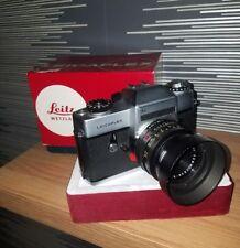 Leicaflex SL Camera with Summicron R 1:2/50mm Leitz Wetzlar LENS