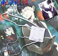 Kaneki Ken White  Single-Eyed Japanse Prop Eye Patch Anime Tokyo Ghoul COSPLAY