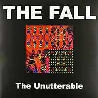 """Reproduction """"The Fall - The Unutterable"""", Poster, Album Cover, Size: 16"""" x 16"""""""