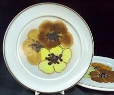 Denby POTPOURRI HONEY 2 Salad Plates LIGHT USE