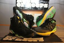 2014 QS Nike Air Jordan Retro 6 BRAZIL PACK US Men SZ 9 [688447-920] 2 pair shoe