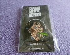 BAM! HORROR EXORCIST VOMITING REGAN COLLECTIBLE ENAMEL PIN  LIMITED