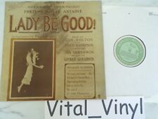 Lady Be Good - Fred Astaire Charleston Puttin On The Ritz WRC vinyl LP Ex