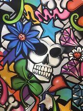 Alexander Henry Fabric, Street Skull, By The Yard, The Fabric Edge