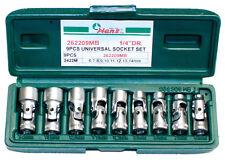 """1/4"""" Operaciones conjuntas 6-14mm 12 Bordes 9 piezas Rótula Vasos hanstools"""