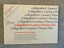 FRISK CALLIGRAPHY PAD A3. 60 PAGES,100 GSM