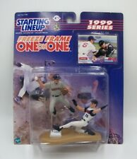 Starting Lineup Freeze Frame One on One Collectible Set of Garciaparra & Edmonds