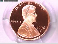 1996 S Lincoln Memorial Cent PCGS PR 69 RD DCAM 28181373 Video