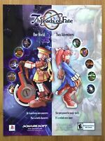 Threads of Fate Playstation 1 PS1 2000 Vintage Print Ad/Poster Art Authentic
