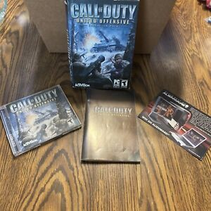 Call Of Duty United Offensive Expansion Pack 2 disc Activision PC WINDOWS w /Key